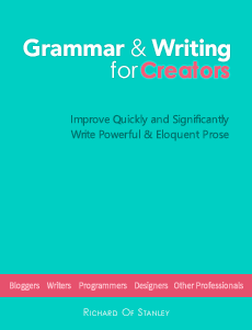 The Grammar Book for Creators